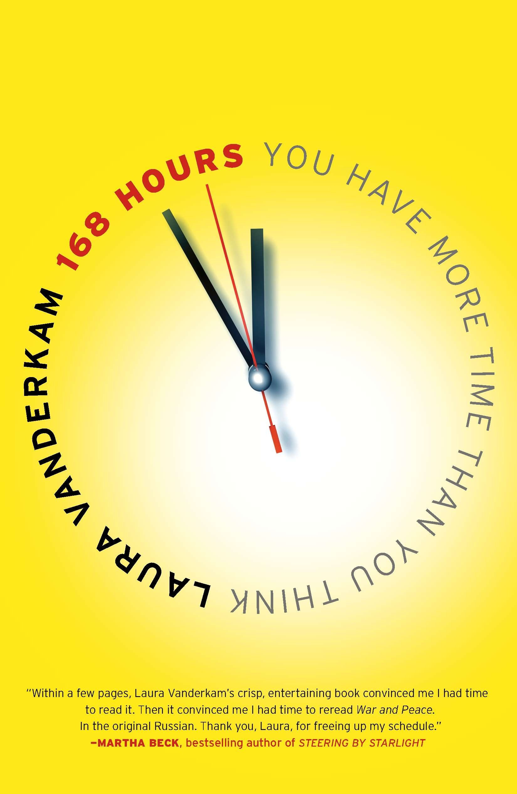 168 Hours: You Have More Time Than You Think. ""